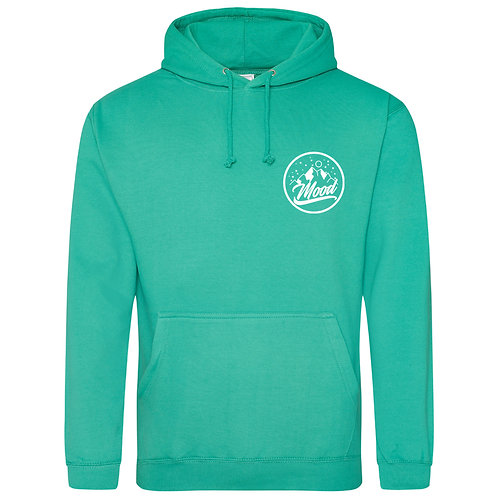 Mood (Spring Green and White) Hoodie