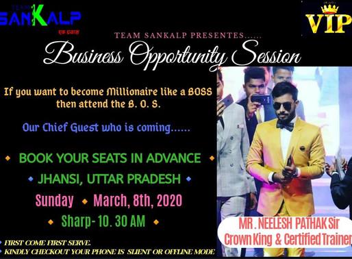 BOS | Jhansi | 8th March