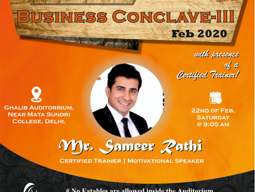 Business Conclave | Delhi | 22nd Feb