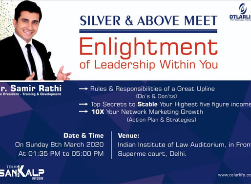Silvers & Above Meet | Delhi | 8th March