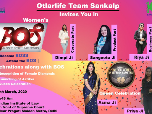 BOS | Delhi | Womens Day | 8th March