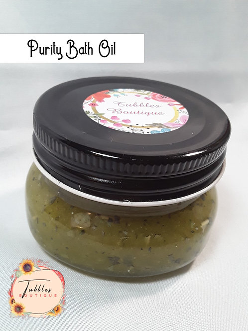 Purity Bath Oil - 4oz.