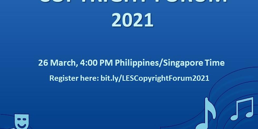 LES Copyright Forum 2021