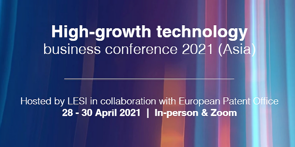 LESI-EPO High Technology Business Conference Asia