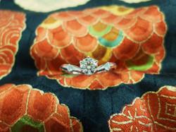 王道の婚約指輪