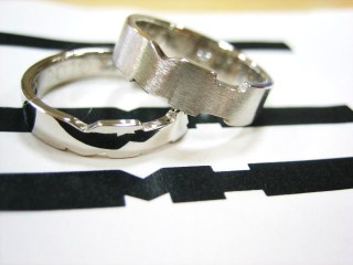旦那様デザインの指輪