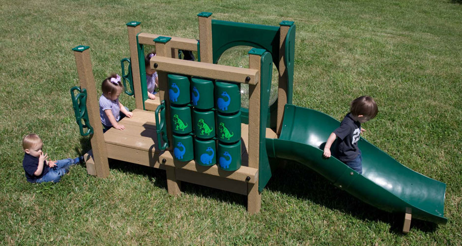 Recycled Plastic Playgrounds