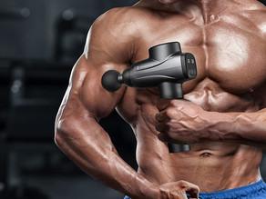 Massage Gun  Professional Deep Tissue Muscle Massager Gun Percussion Handheld Electric Mus