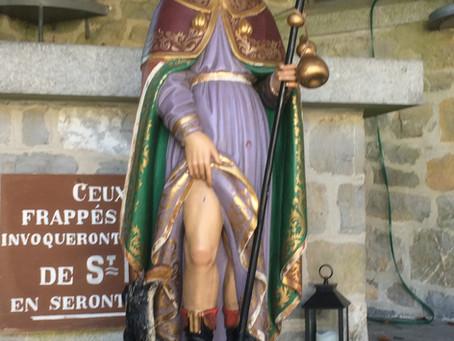 Comme pour la peste au XVIIe siècle Saint Roch veille sur vous !