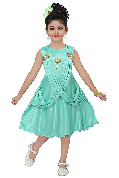 Chandrika Kids Midi Party Dress for Girls