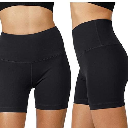 "Yogalicious Lux High Waist Squat Proof Biker Short - 2 Pack 5"", 7"""