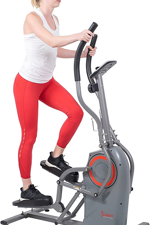 Sunny Health & Fitness Performance Elliptical Machine Cross Trainer with Climbin