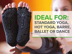 Yoga Socks for Women & Men – Toeless Non Slip Sticky Grip Accessories for Yoga