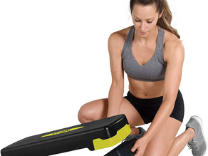 Tone Fitness Aerobic Step Platform   Exercise Step   Full and Compact Sizes