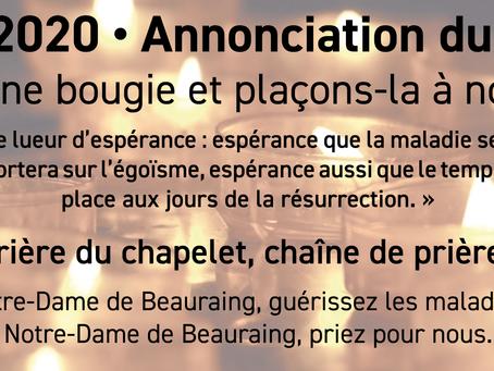 Diocèse de Namur - Edition spéciale - 24 mars 2020