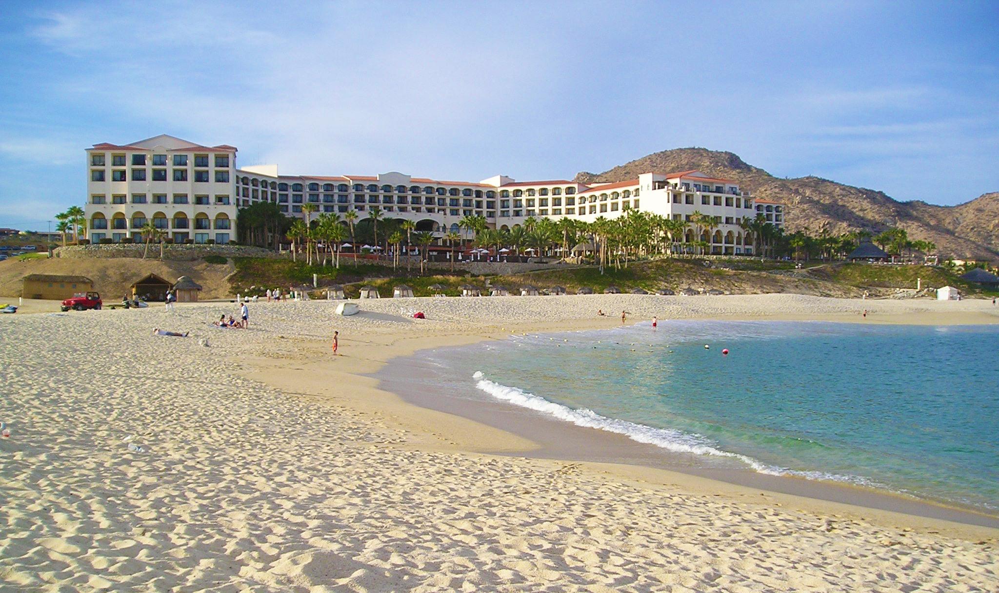 Beach front hotel