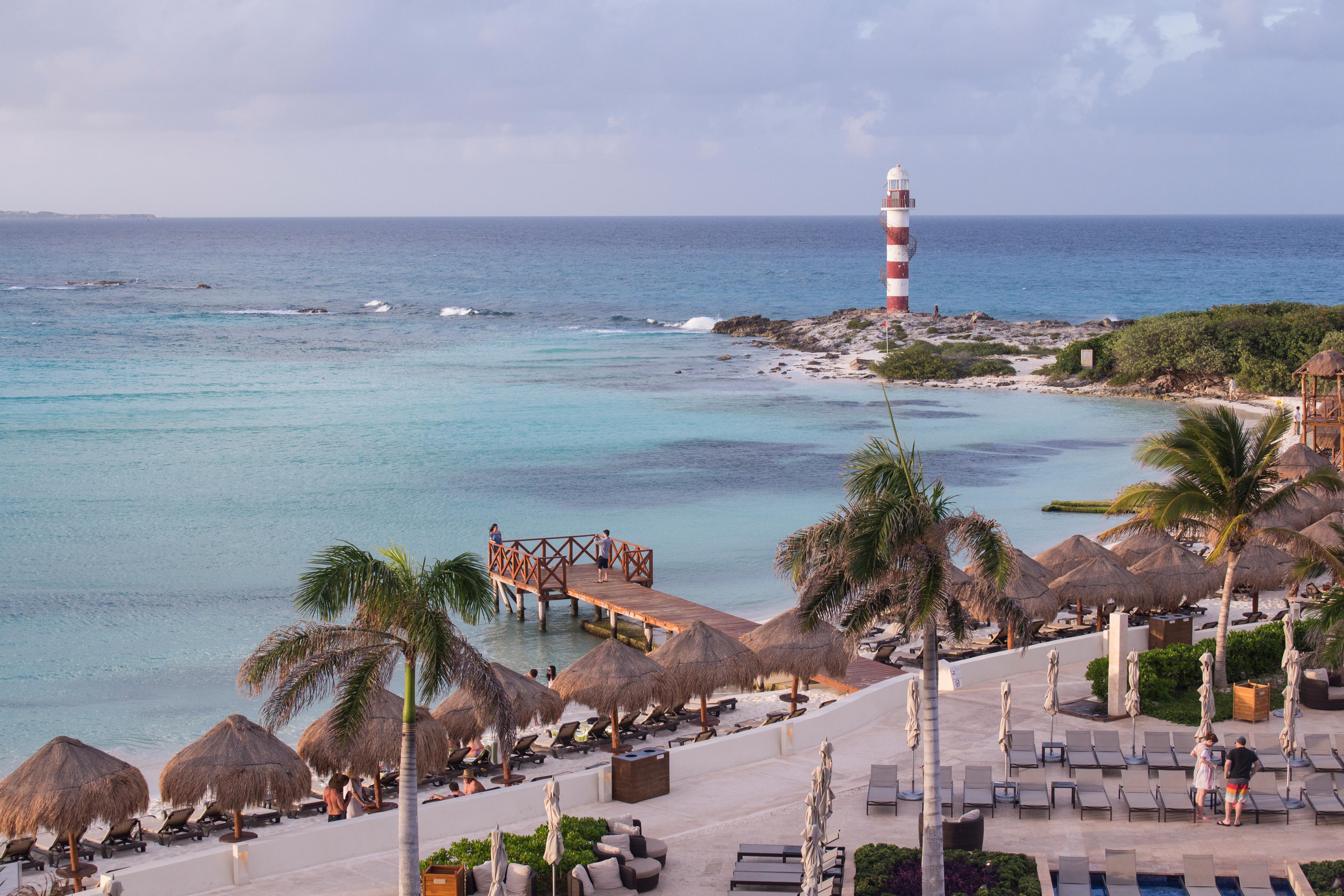 ocean lighthouse view