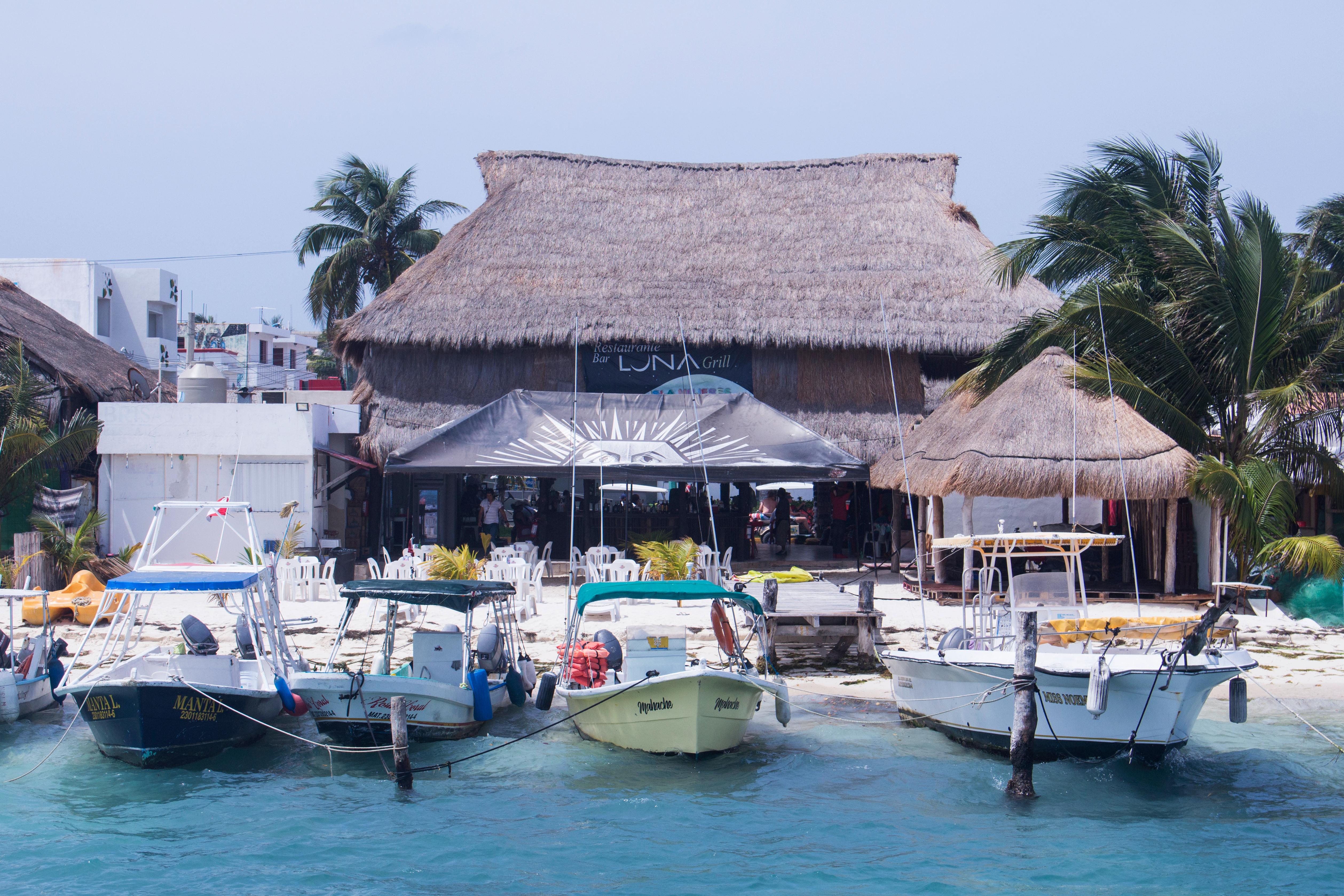 harbor huts