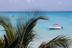 Cancun boat