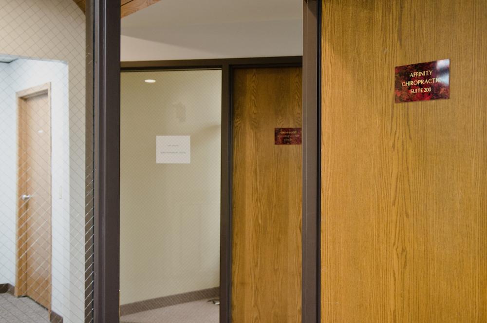 We are located in Suite 200