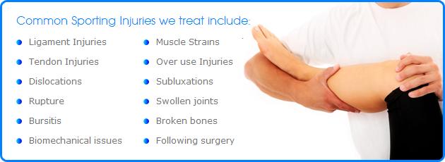 Minnetonka Chiropractor, Affinity Chiropractic treats sport injuries.