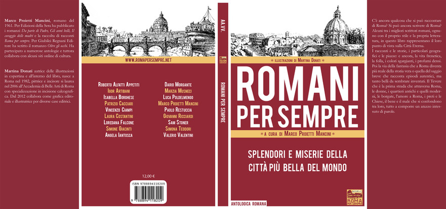 Copertina Romani per sempre