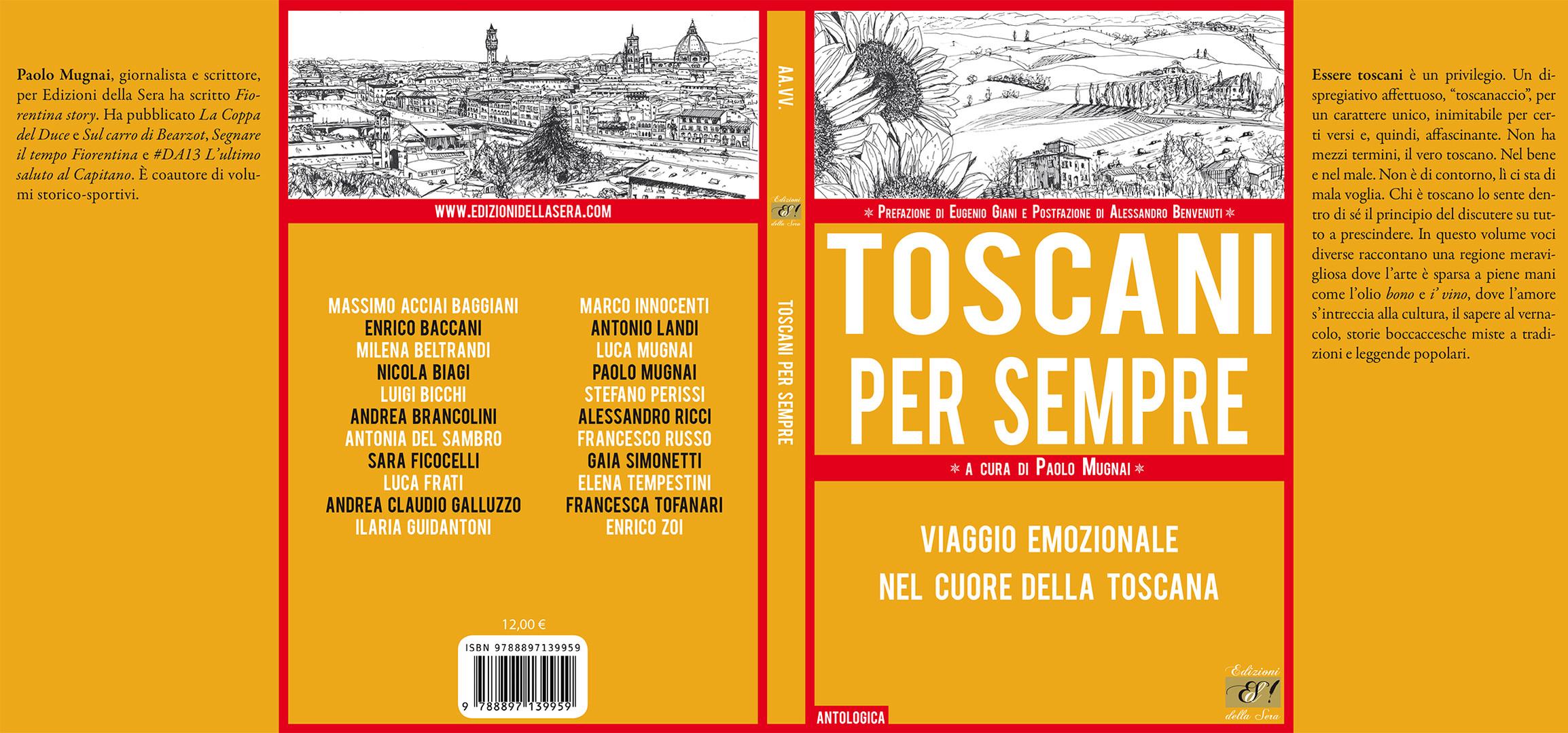 Copertina Toscani per sempre