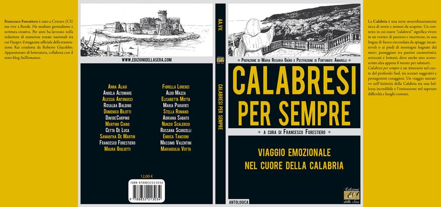 Copertina Calabresi per sempre