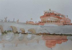 Castel Sant'Angelo_12x17cm_2015