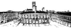 Portici di piazza Maggiore