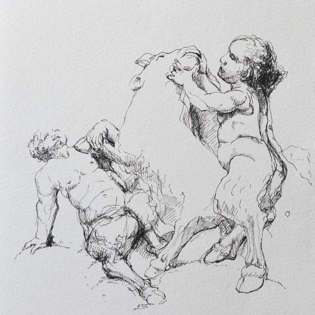 omaggio a Gustave Moreau_particolare di