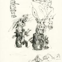 Pinocchio e i due asini_30x21cm_2012.jpg
