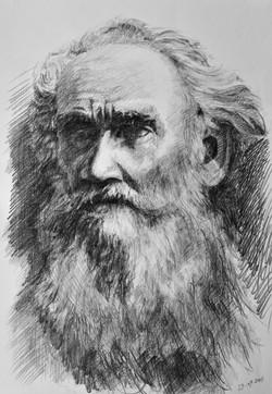 Lev Tolstoj_grafite su carta_46x33cm_201