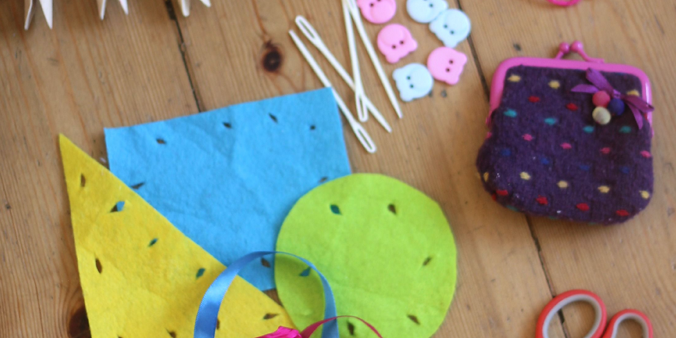 Summer Camp - Textiles & Sewing