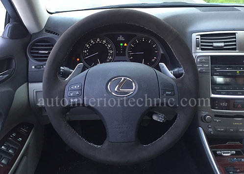 06-13 Lexus IS Steering Wheel Wrap