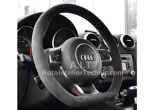 AUDI S3 Flat Bottom Steering Wheel Wrap