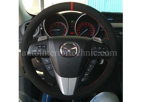 10-12 Mazdaspeed 3 Steering Wheel Wrap
