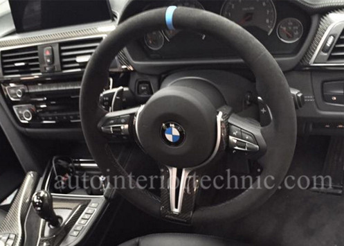 Bmw F30 F32 Mperformance Steering Wheel Wrap