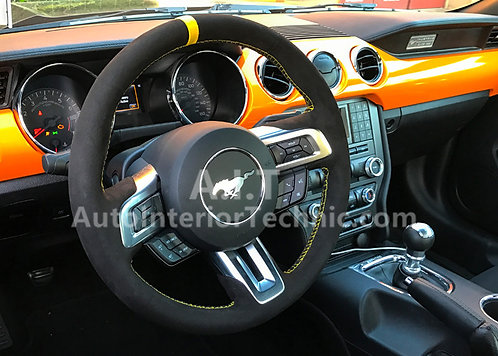 15 Ford Mustang Steering Wheel Wrap