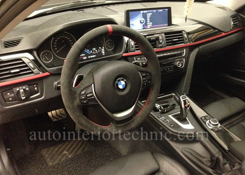 Bmw F30 F32 Steering Wheel Wrap