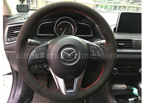13-16 Mazda 6 Steering Wheel Wrap