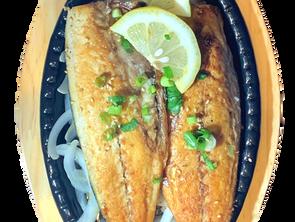 MACKEREl-烤鲭鱼-고등어