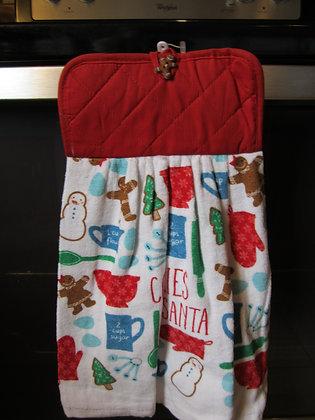 Cookies for Santa Towel