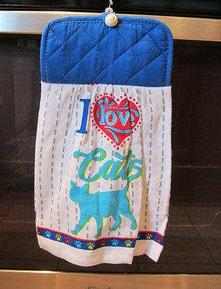 I Love Cats - Towel