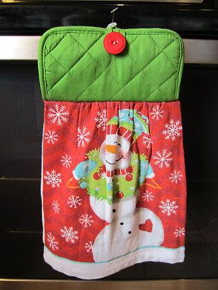 Happy Snowman Towel