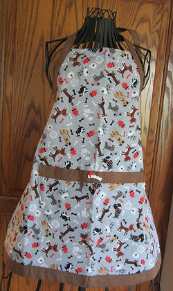 Love Dogs - Kid's Wideband Chef Apron