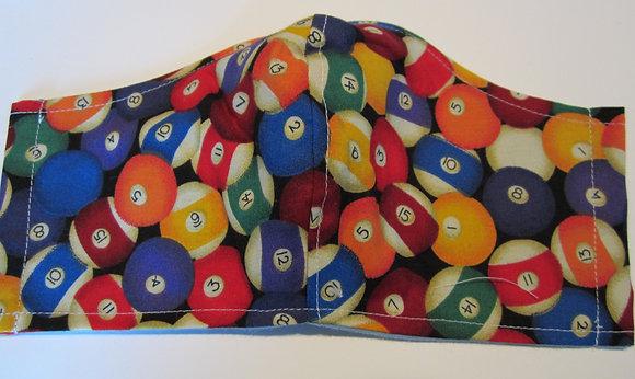 Pool Balls Blur Mask