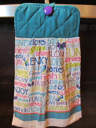 Happy Word Medley - Towel