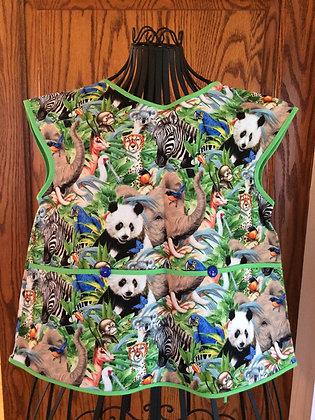 Panda Jungle - Painter Style Apron