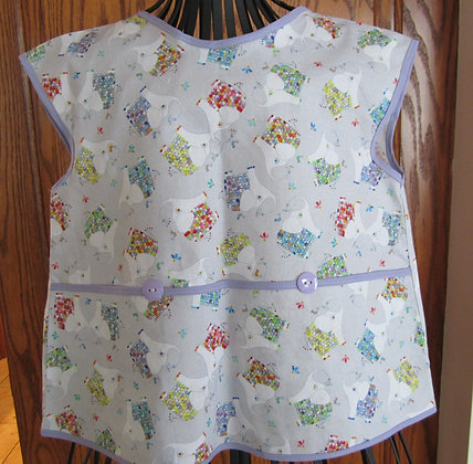 Fancy Elephants - Painter Style Apron